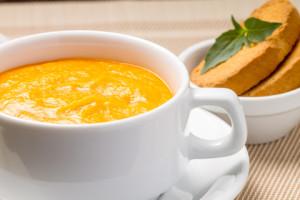 http://www.dreamstime.com/stock-photo-pumpkin-soup-bowl-fresh-basil-white-image33830770